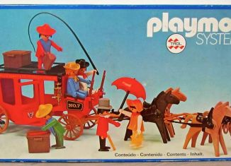 Playmobil - 23.75.0-trol - Red stagecoach