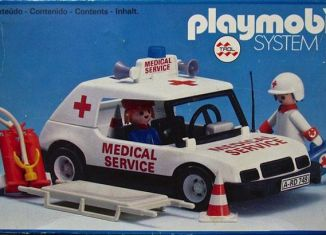 Playmobil - 23.77.6-trol - Medical Service car