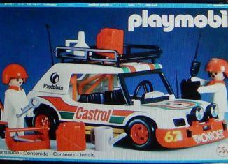 Playmobil - 23.77.9-trol - Castrol rally car