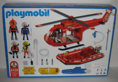 Playmobil 4428-usa - Search and Rescue Set - Back