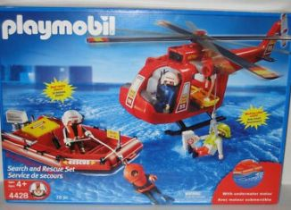 Playmobil - 4428-usa - Search and Rescue Set