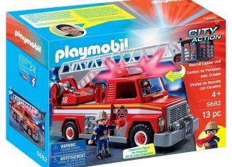 Playmobil - 5682v2-usa - Rescue Ladder Unit