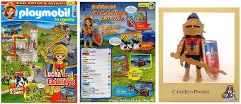 Playmobil R014-30796403-esp - Golden knight - Back