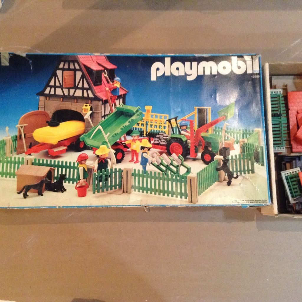 Playmobil 13555-aur - ferme - Box