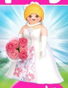 Playmobil 30798433-esp - Bride with bouquet - Box