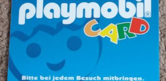 Playmobil - NO-GER - Playmobil-Card, Version 2