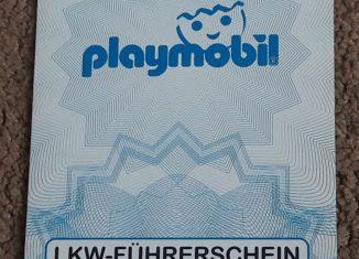 Playmobil - 30887732/06.07 - Playmobil truck driver's license