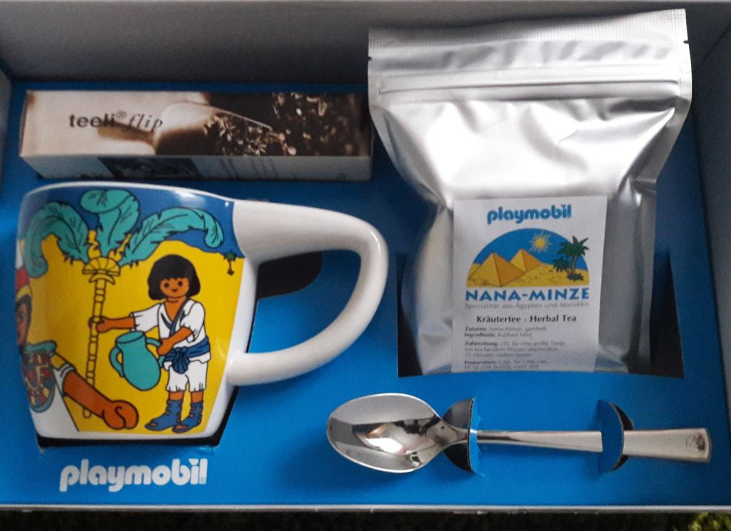 Playmobil XXXX-INT - Service à thé Egypte - Précédent