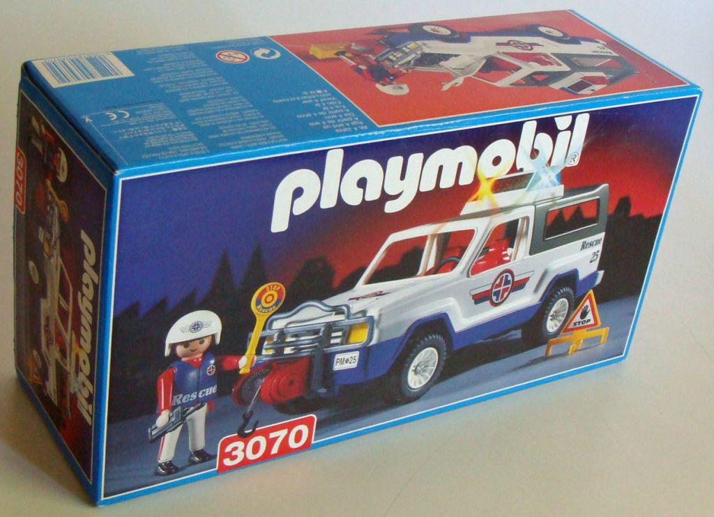 Playmobil 3070 - Rescue Suv - Box