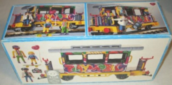 Playmobil 4118v1 - Graffiti Car - Box