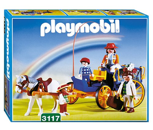 Playmobil 3117v1 - Horse & buggy - Box