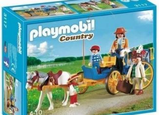 Playmobil - 3117v2 - Horse & Buggy