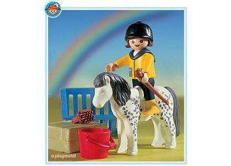 Playmobil - 3119s2 - Niña con pony