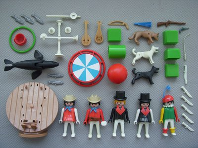 Playmobil 3130s2v1 - Circus set - Back