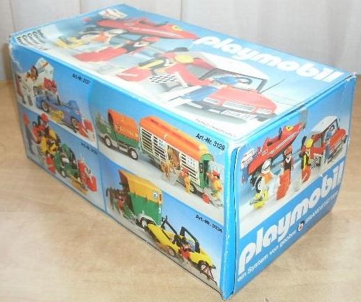 Playmobil 3135s2 - Speedboat + car - Caja