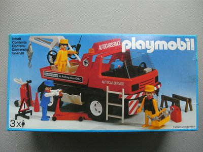 Playmobil 3136 - Tow truck - Box