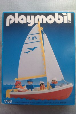 Playmobil 3138s2 - Sailboat - Box