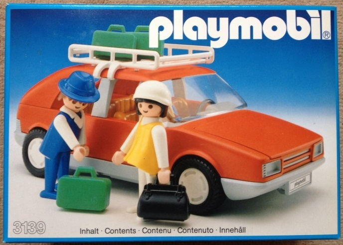 Playmobil 3139v1 - Red Family Car - Box
