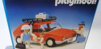 Playmobil - 3139v2 - Voiture de tourisme rouge