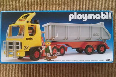 Playmobil 3141 - Large Dump Truck - Box