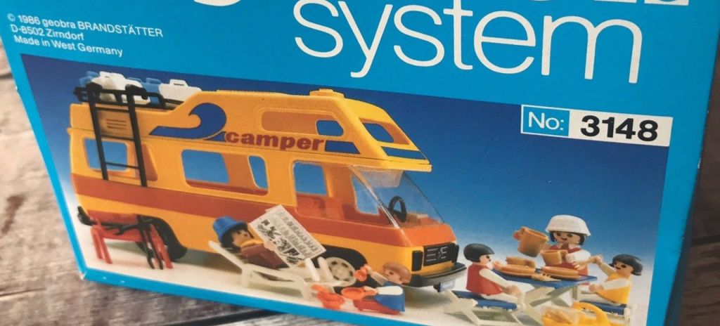 Playmobil 3148v1 - Motorhome - Box