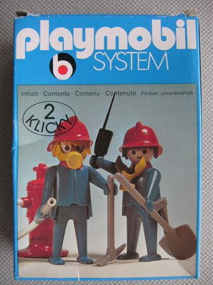 Playmobil 3162s1 - 2 Firefighters - Box