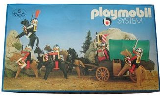 Playmobil - 3176s1 - Nuremburg Guards + covered wagon