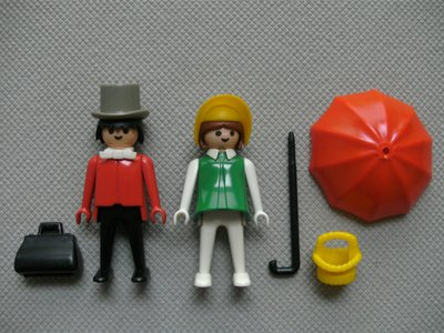 Playmobil 3178 - Western Couple - Back