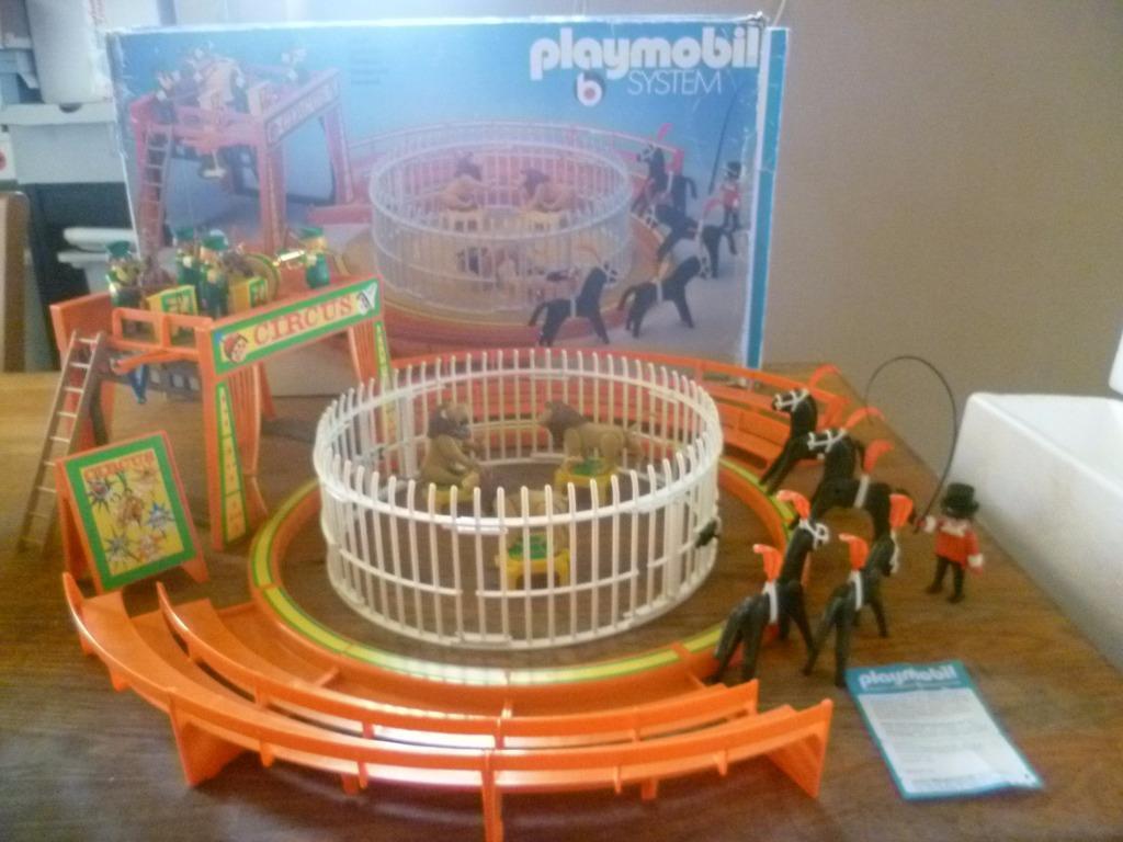 Playmobil 3194v2 - Circus orange - Box