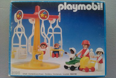 Playmobil 3195 - Merry-Go-Round - Box