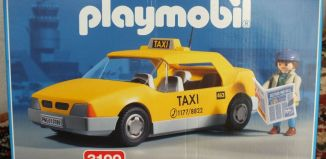 Playmobil - 3199v1 - Taxi /  NY skyline
