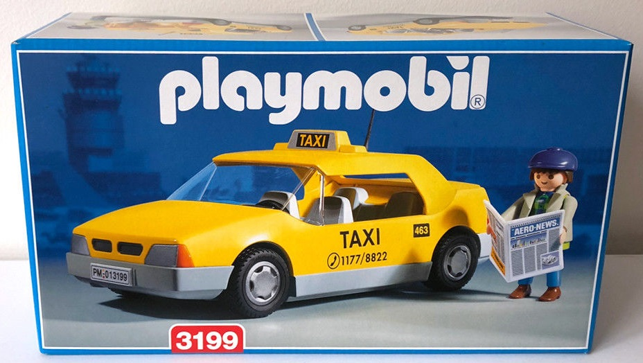 Playmobil 3199v2 - Taxi - Box