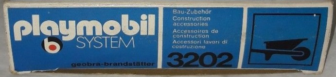 Playmobil 3202s1v1 - Construction Accessories - Back
