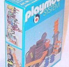 Playmobil - 3206s1v2 - Railway Station Platform Luggage