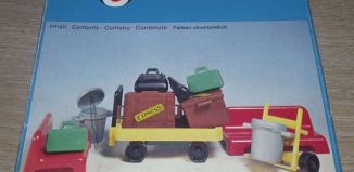 Playmobil - 3206s1v3 - Railway Station Platform Luggage
