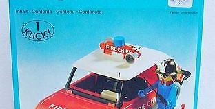 Playmobil - 3216s1 - Fire Chief Car
