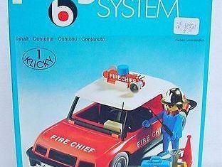 Playmobil - 3216s1 - Fire Chief Car