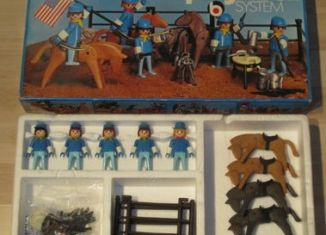 Playmobil - 3230s1v2 - US cavalry