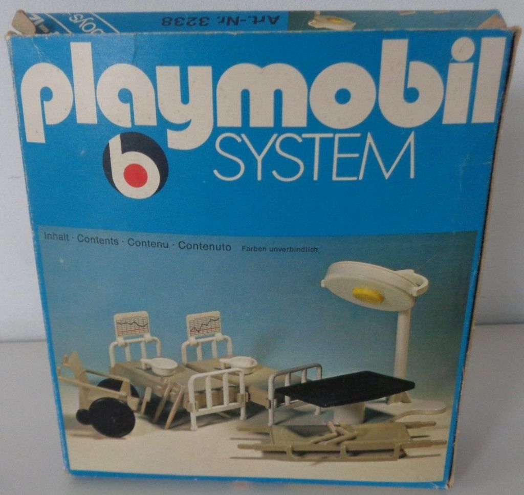 Playmobil 3238s1 - Medical Accessories - Box