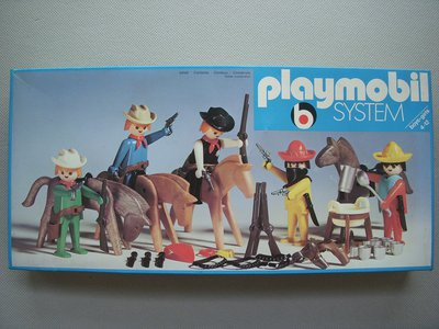 Playmobil 3240v1 - 5 Bandits Set - Box