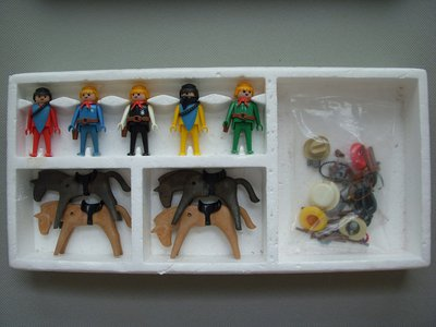 Playmobil 3240v1 - 5 Bandits Set - Back