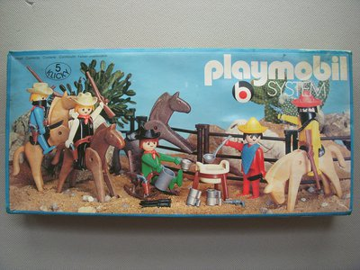 Playmobil 3240v2 - 5 Bandits Set - Box