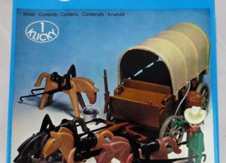 Playmobil - 3243s1 - Covered Wagon and Horses