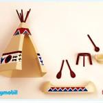 Playmobil - 3252s1v2 - Tent / Canoe / Cooking Pots