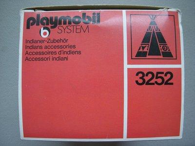 Playmobil 3252s1v1 - Tent / Canoe / Cooking Pots - Back