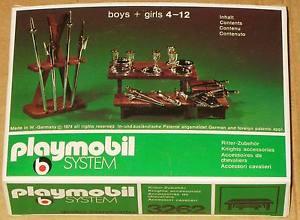 Playmobil 3262s1v1 - Knights Accessories - Box