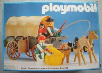 Playmobil - 3278v1 - Settlers & covered wagon