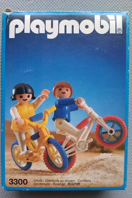 Playmobil 3300 - BMX Bikes - Box
