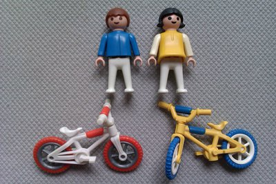 Playmobil 3300 - BMX Bikes - Back
