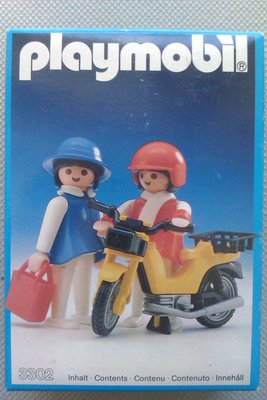 Playmobil 3302 - Ladies With Moped - Box